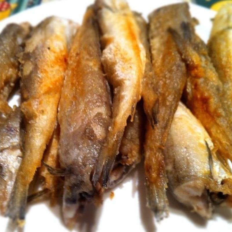 Pescados a la plancha: especialidades de Bar Bolos