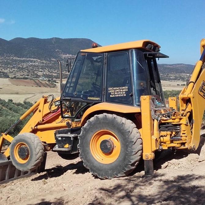 El mantenimiento de las máquinas de movimiento de tierras