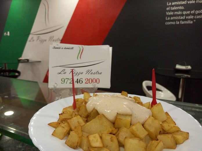 Productes fregits: Carta y servicios de La Pizza Nostra
