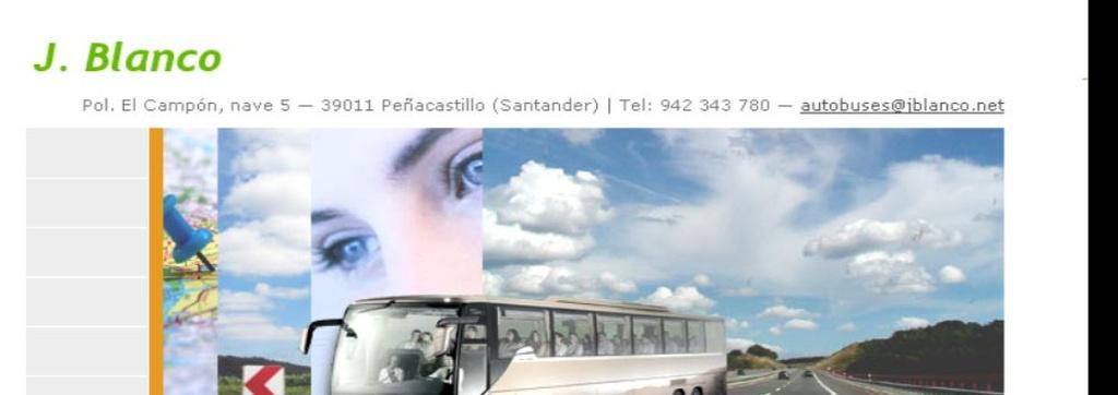 Autocares en Peñacastillo | Autocares J. Blanco S.L.