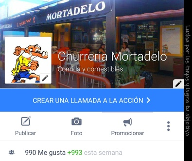 Facebook Churreria Mortadelo