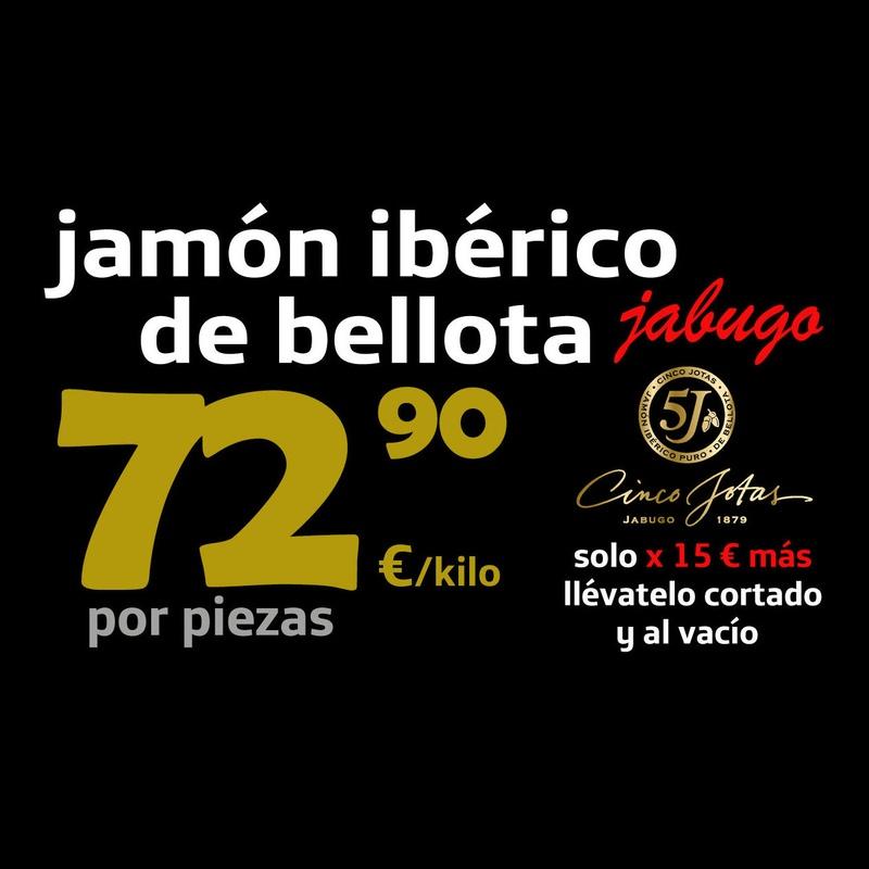 Jamón Ibérico de Bellota / Cinco Jotas:  de Sergivan-Mar