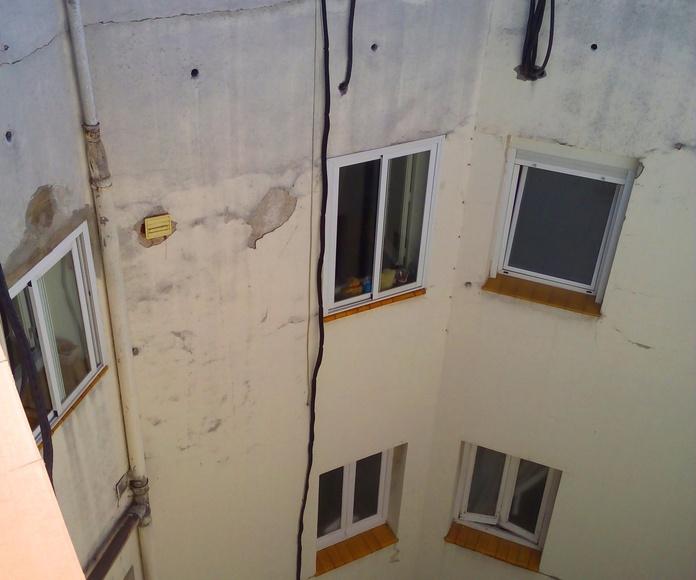 Climatización en edificio