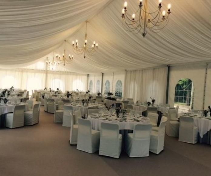 Menaje para eventos y bodas en Cantabria