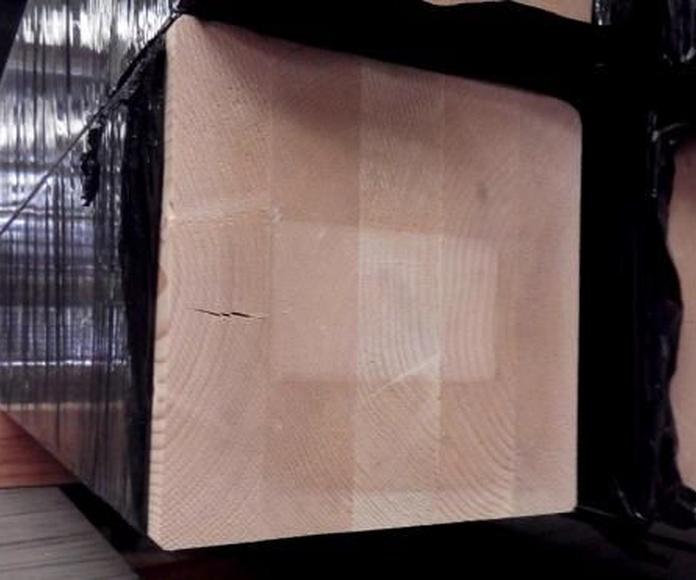 Vigas de madera: Productos de Maderas Rupérez