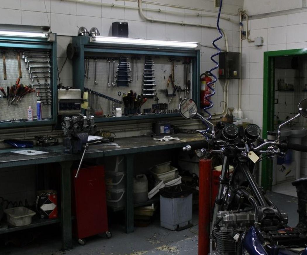 Quédate con el mejor taller de motos