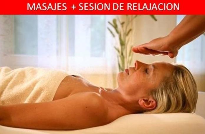 MASAJE+SESION DE RELAJACION