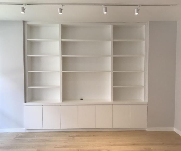 Librerías y Estanterías para salón.: Servicios de Diseño a Medida