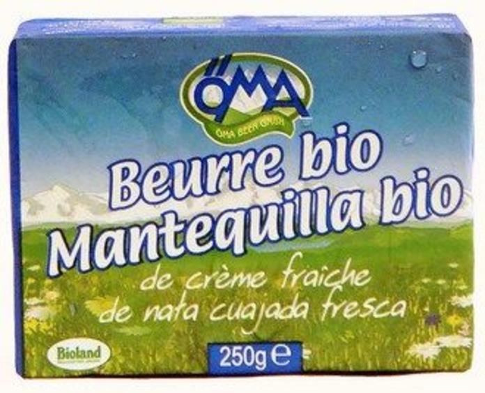 OMA, Mantequilla: Catálogo de La Despensa Ecológica