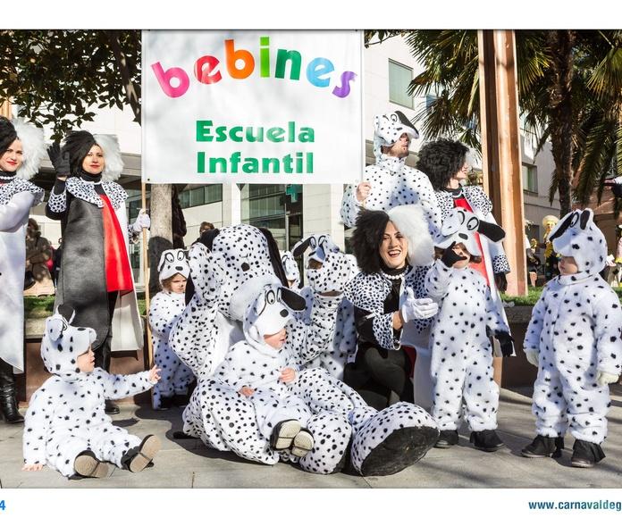 Celebración de fiestas tradicionales: Servicios y Actividades de Escuela Infantil Bebines