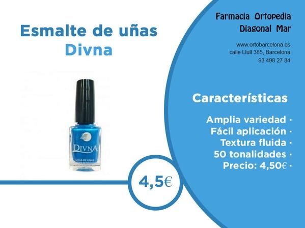 Esmalte de uñas Divna