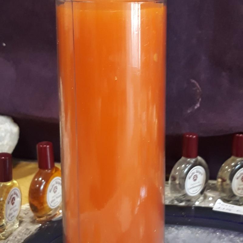 Velón naranja 14X6: Servicios de Centro M.A.
