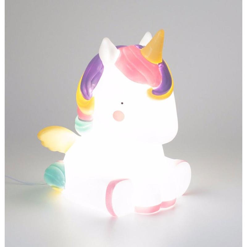Volver Luz de Mesa Unicornio A Little Lovely Company: Productos de Mister Baby