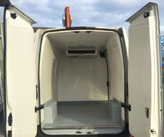 Alquiler furgón frigorifico Avilés