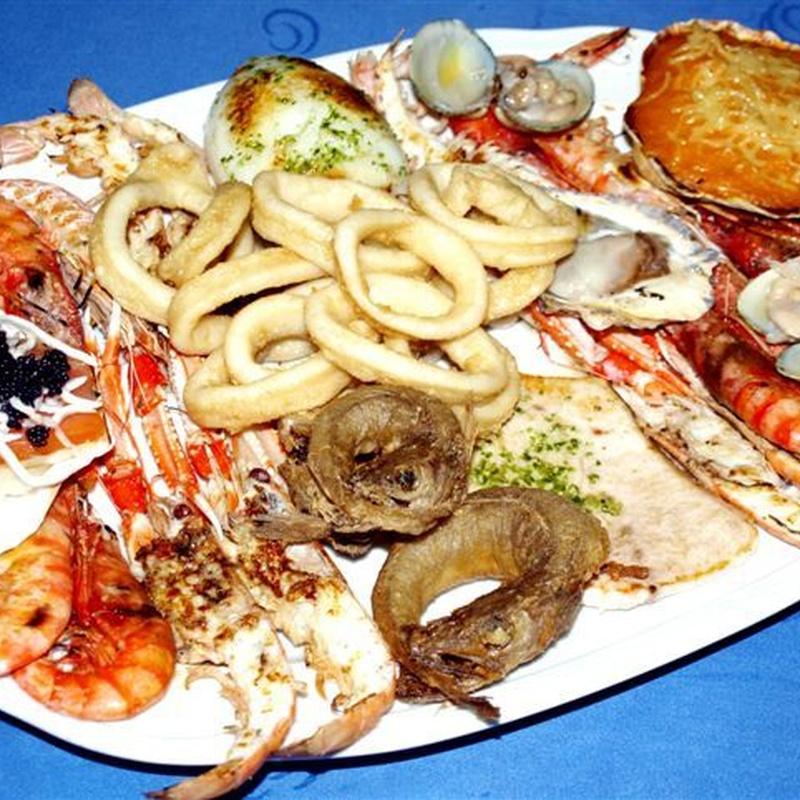 Sugerencias del chef. Mariscadas y parrilladas: especialidades de Bar Bolos