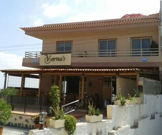 Sopas frías y calientes: Carta de Verna's Restaurante