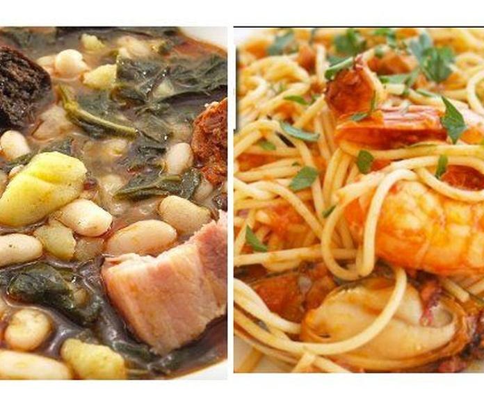 Menús diarios: Carta y menús de Sidrería El Escalón