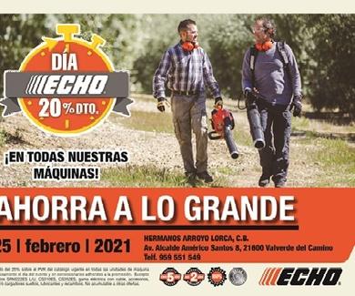 Próximo evento ECHO DAYS que se realizará el día 25 de Febrero