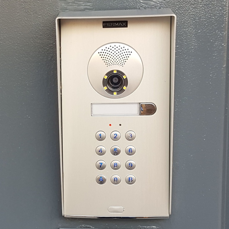 video portero con control de acceso