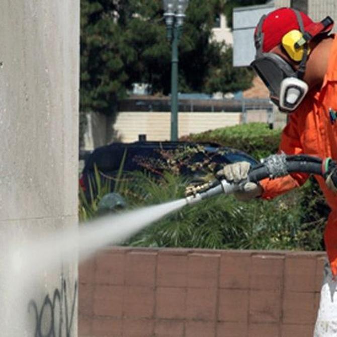 Eliminar los grafitis