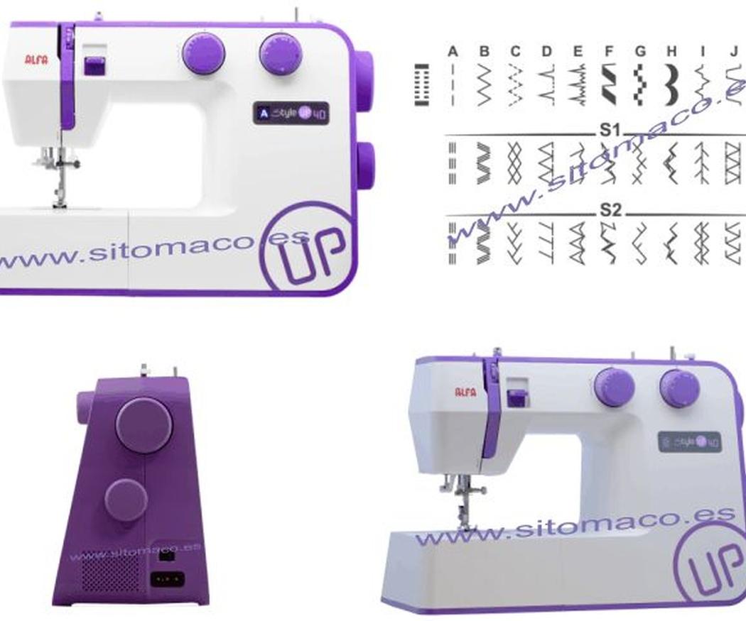 Las máquinas de coser mecánicas