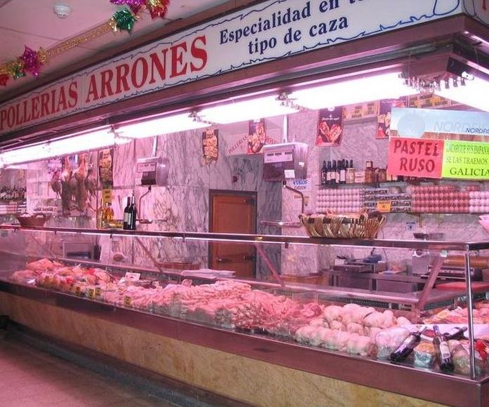 Especialistas en aves, caza y carnes exóticas.