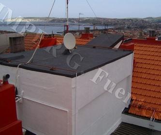 Patios, terrazas y balcones: Servicios que ofrecemos de Impermeabilizaciones G. Fuentes, S.L.