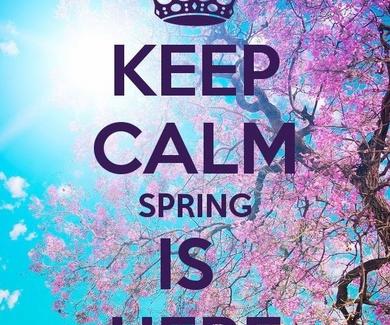 ...y llegó la primavera