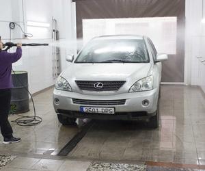 Lavadero manual de vehículos