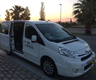 Rutas turísticas: Servicios de Taxi Josep María