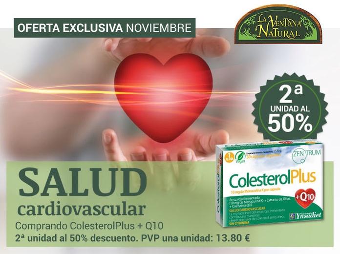 OFERTA NOVIEMBRE- Colesterol Plus la 2ª Unidad al 50%