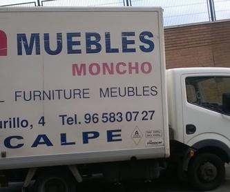 Tapicería: Productos de Muebles Moncho