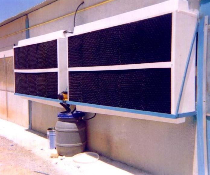Refrigeración evaporativa de plástico - HUMIBAT