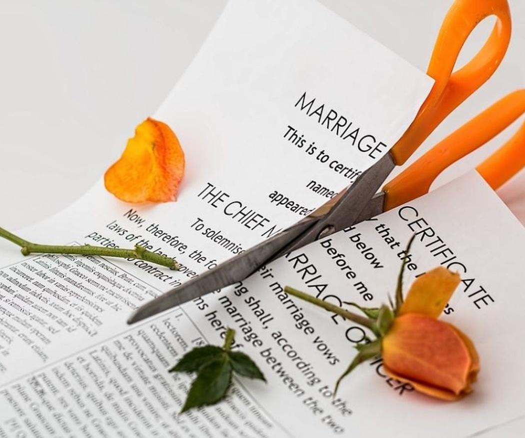 La separación matrimonial