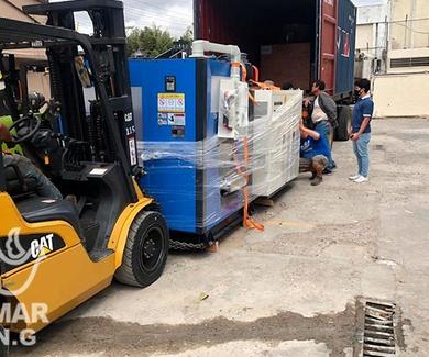 Remar España envió de contenedores a Centroamérica