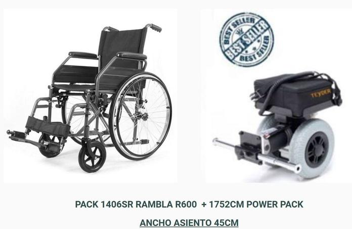 OFERTA MOVILIDAD PACK 1406SR RAMBLA R600  + 1752CM POWER PACK