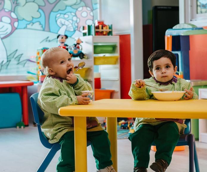 Cátering: Servicios de Escuela Infantil Pequeños Gigantes