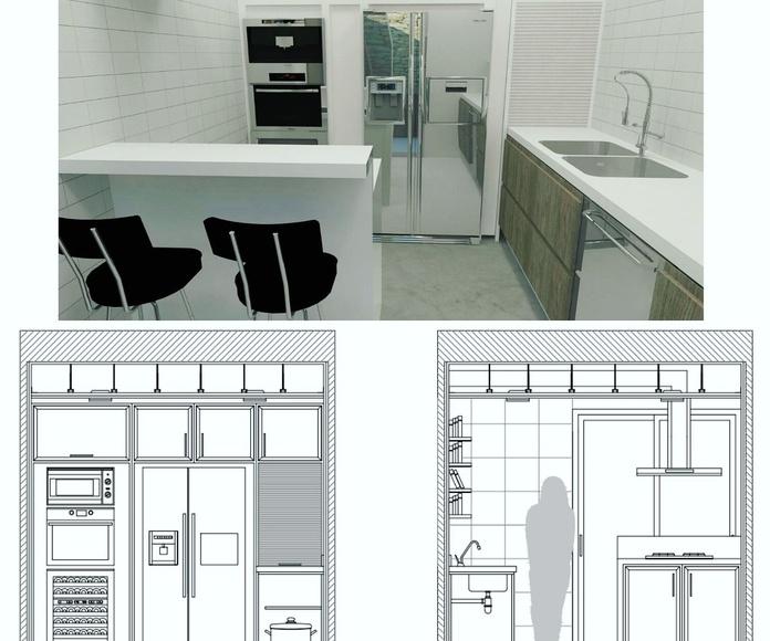 Reformas de cocinas: Servicios de Construcciones y Reformas Carabantes