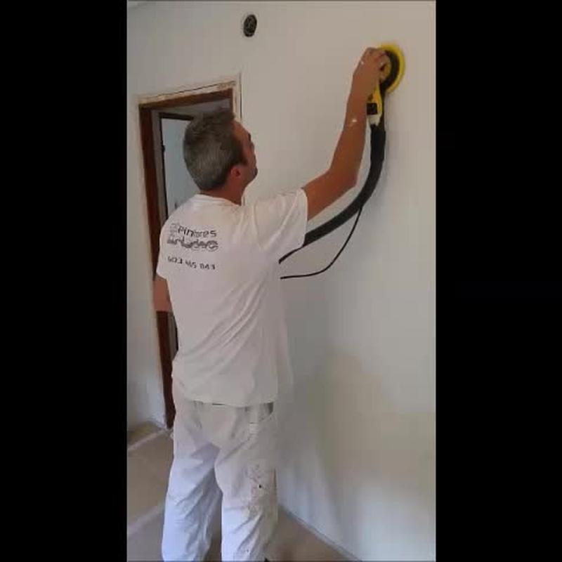 Alisados de gotelé: Servicios de Pintores Artedec