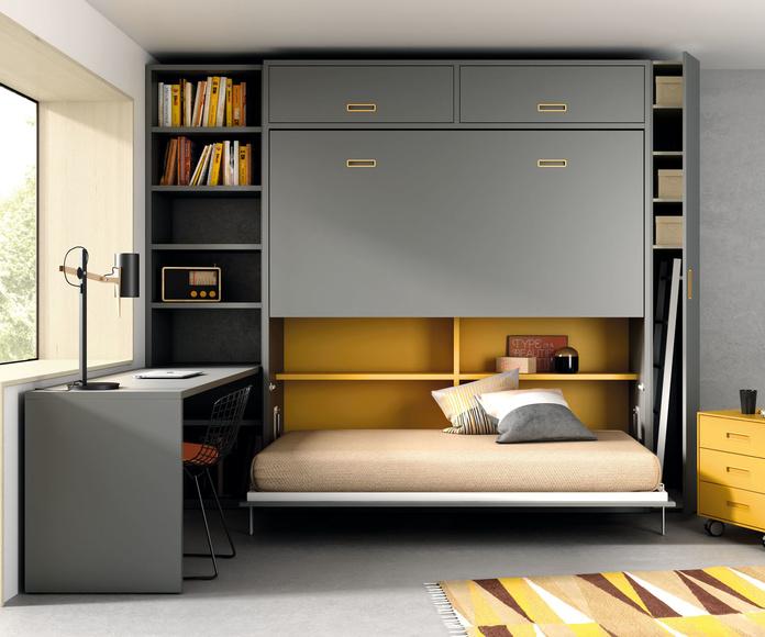 Doble cama abatible horizontal: Nuestros muebles de Muebles Aguado