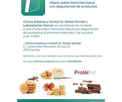Charla sobre Nutrición-Salud con degustación de productos