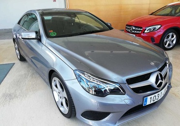 MERCEDES-BENZ Clase E Coupe E 220 BlueTEC 2p