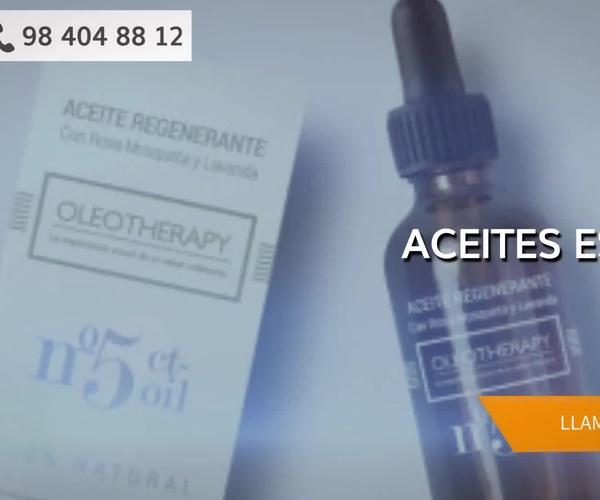 Aceites esenciales y estética natural en Gijón | Espacio Salud