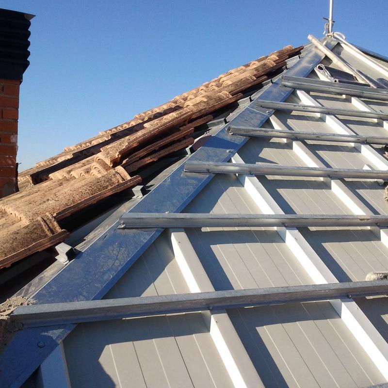 Estructuras de tejado: Productos y servicios de Cerrajería Titulcia