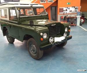 Y aquí esta....Nuestro Land Rover Santana ´77! Cara nueva desde el techo hasta las llantas!