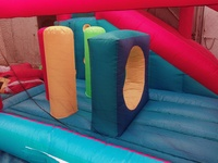Hinchable PVC-Nylon con tobogán