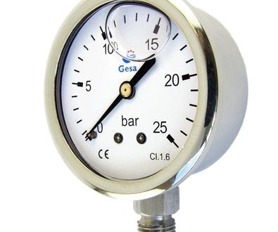 Nuevos servicios de calibración de manómetros