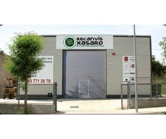 Scania 92/93: Productos de Recanvis Xasaro