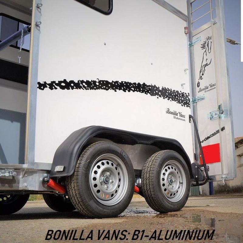 remolque de caballos B1-aluminium Bonilla Vans