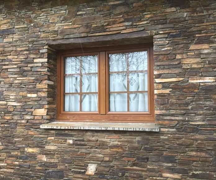 Revestimientos exteriores: Servicios de Colocación de Piedra O Pego